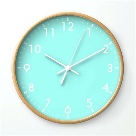 Wall Clock Digital by Mermaid Wall Clock Digiscot