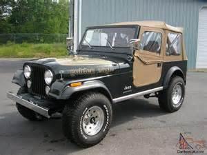 Eagle Jeep For Sale 1983 Jeep Cj7 Golden Eagle