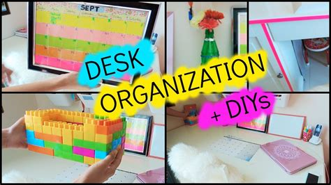 back to desk organization back to desk organization diys 2016