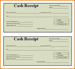 How To Make A Receipt Template by 6 How To Make Receipts Expense Report