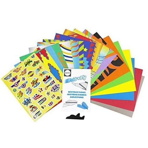 Fold N Fly Paper Airplanes - fold n fly paper airplanes kit amazin top