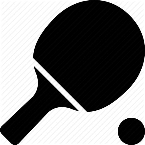 Raket Pingpong paddle ping pong racket table tennis icon