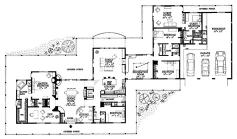 5 bedroom open floor plans exceptional wide house plans 12 5 bedroom ranch house