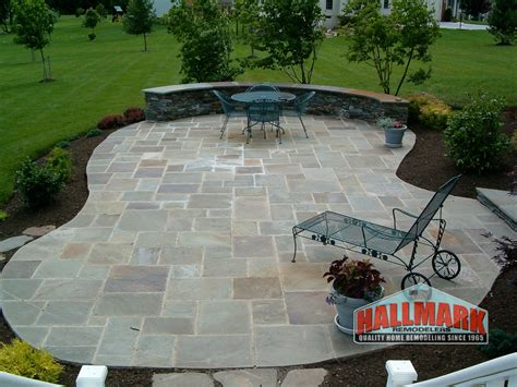 Concrete Or Paver Patio Concrete Pavers Patio Bucks County