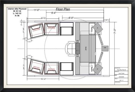 recording studio floor plans mobile recording studio for sale kevin cody music