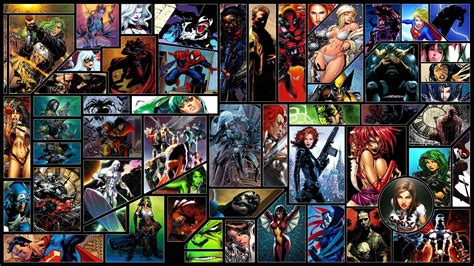 best comic characters comic book wallpapers wallpaper cave