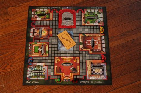 clue room names this peaks version of clue is a board i d to play