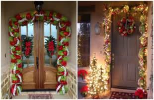 como decorar arboles de navidad c 243 mo decorar en navidad con guirnaldas de mallas