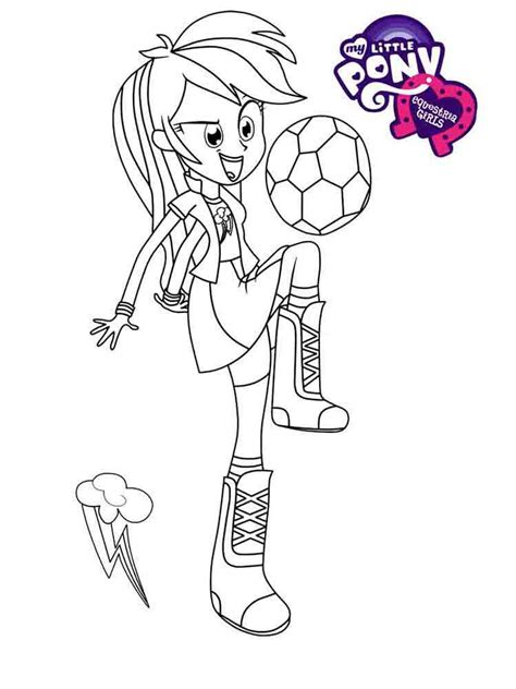 coloring page equestria girl equestria girls coloring pages download and print