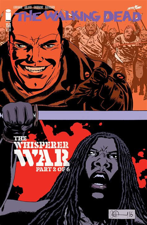 the walking dead volume 27 the whisperer war the walking dead 158 capa e informa 231 245 es guerra dos