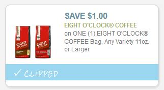 printable eight o clock coffee coupons eight o clock coffee only 1 99 at acme starting 5 29 ftm