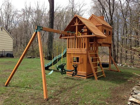 professional swing set 1000 images about fantasy tree house swing sets on