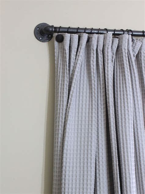 makeshift curtain rod 6 ways to make your own curtain rods