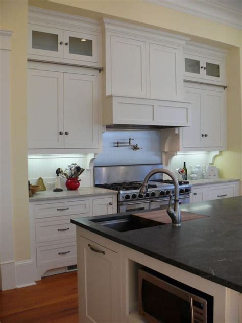 honed virginia mist granite counter top kitchen