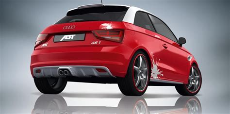 Audi A1 Sportline by Abt Audi A1 Sportsline Tuning And Cosmetic Packages