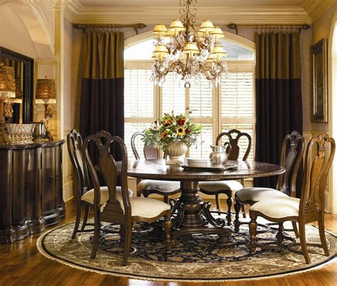 round table dining room buy bolero round table dining room set by universal from