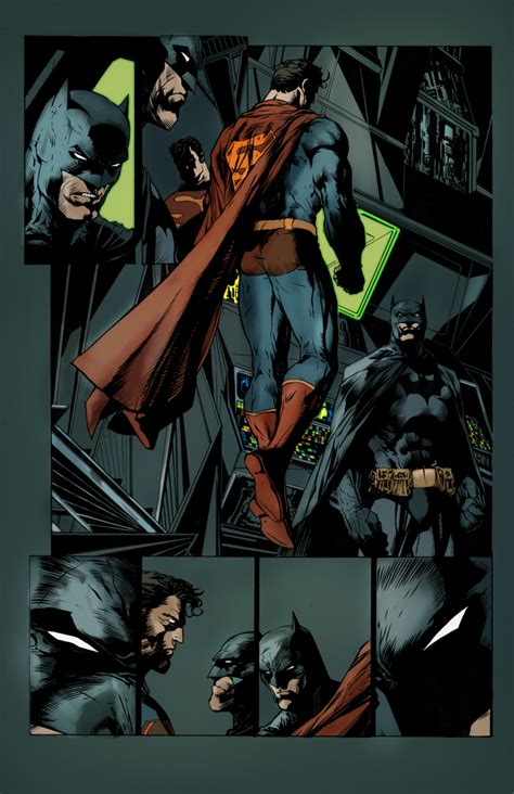 superman batman wallpaper jim lee jim lee s superman and batman by commanderlewis on deviantart