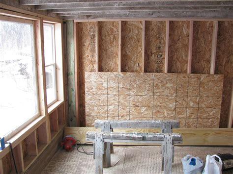 Interior Shed Walls by Burr Oak Gardens