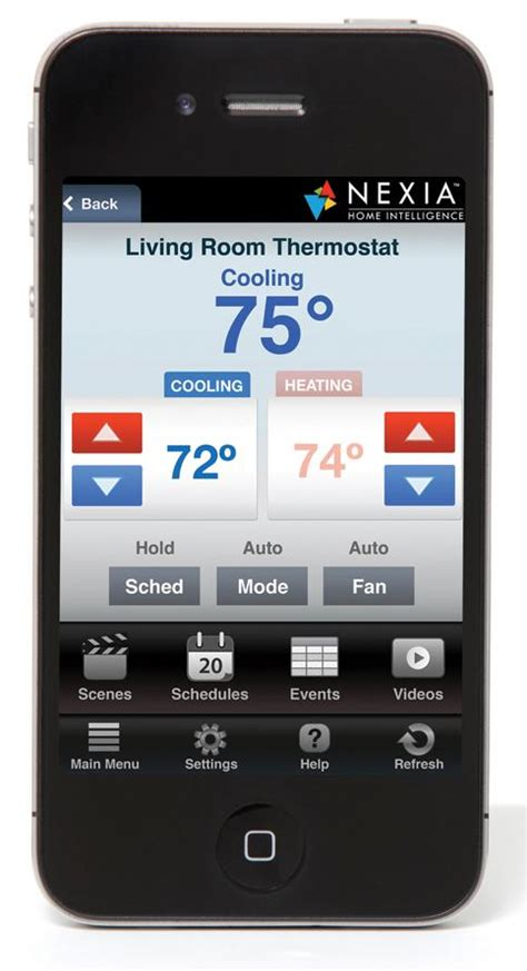 Tv Mobil Nexia home automation product offering americool heating