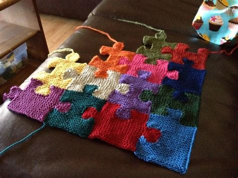 Puzzle Pieces Knitting Pattern By Megan Ellinger