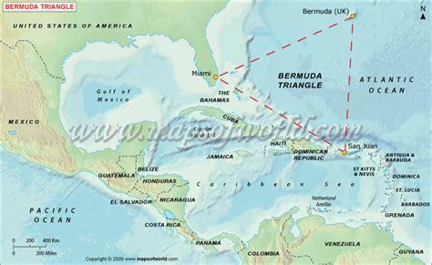 bermuda map 7 kejadian misterius di segitiga bermuda