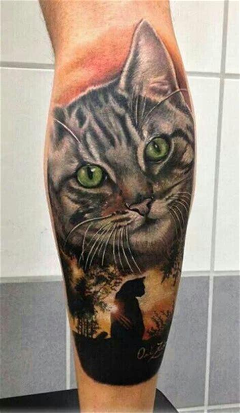 cat tattoo montreal cat tattoo sleeve inked pinterest