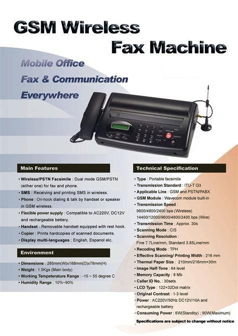 mobile fax mobile fax gsm fax for export sim card fax machine thermal