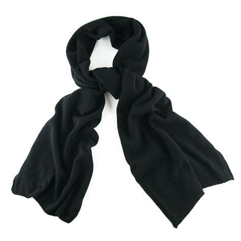 Scarf Black black co uk classic black knit scarf