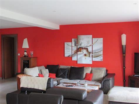 Superbe Decoration De Peinture Pour Salon #1: peinture-salon-orange-guipavas.jpeg