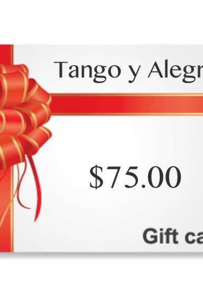 Tango Gift Card - gift cards archives tango y alegria