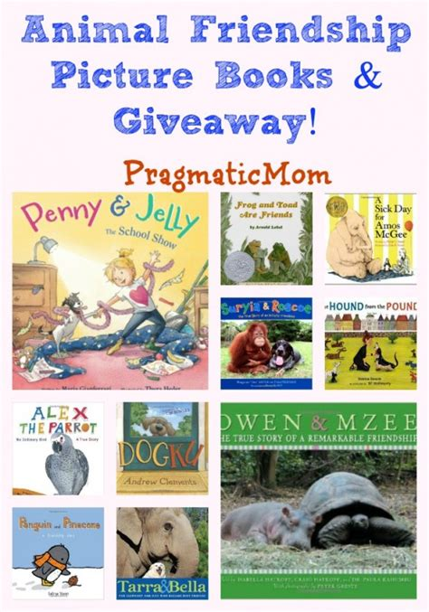 picture books about friendship animal friendship picture books pragmaticmom