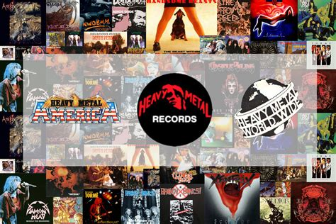 Metal Records Heavy Metal Records Revolver Records