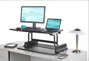 Computer Desktop Stand Pneumatic Sit Stand Adjustable Computer Desk Review And