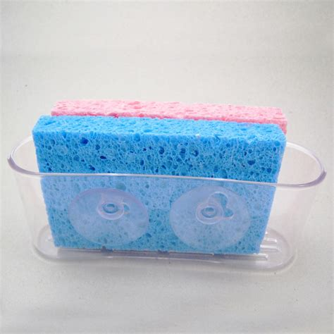 kitchen sink caddy organizer sponge dish brush holder
