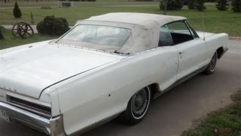 how to fix cars 1966 pontiac bonneville auto manual find used 1966 pontiac bonneville convertible in holmen wisconsin united states