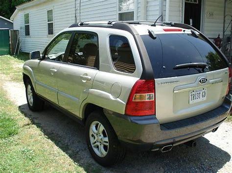 Buy Kia Sportage Used Buy Used Kia Sportage Ex 2007 2 7l V6 2wd Auto Gold