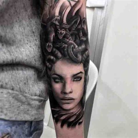 sexy medusa tattoo the 25 best medusa design ideas on
