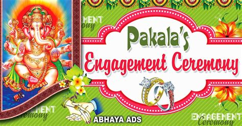 design engagement banner indian wedding flex banners template images free sles