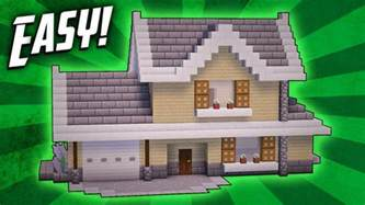 how to build a house minecraft how to build a suburban house tutorial