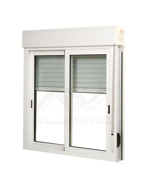ventanas de aluminio con persianas ventana aluminio blanco con persiana y mosquitera beto