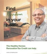 claim the healthy homes renovation tax credit