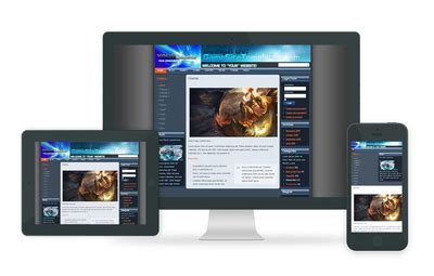 drupal themes gaming free free drupal template