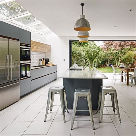 white and grey kitchen ideas grey and white kitchen kitchen ideas housetohome co uk