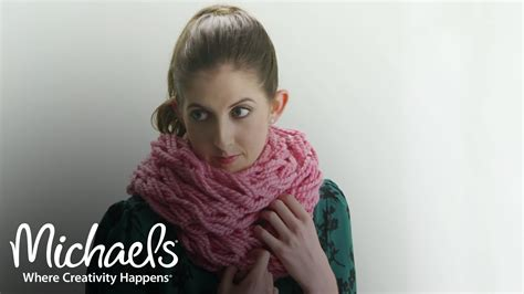 arm knitting scarf step by step arm knitting for beginners