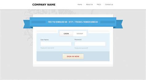 wordpress themes free login 20 free login form psd for downloading best wordpress
