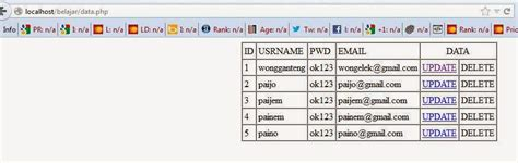 tutorial membuat website php dengan dreamweaver dreamweaver tutorial cara membuat update page berbasis