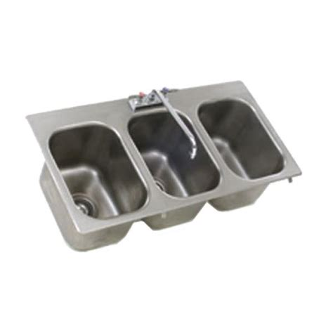 rimming drop  sink  compartment  wide   front      deep