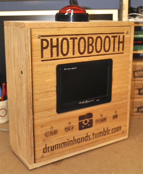 building a photo booth raspberry pi photo booth drumminhands design