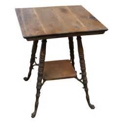 Vintage Wood Side Tables » Home Design 2017