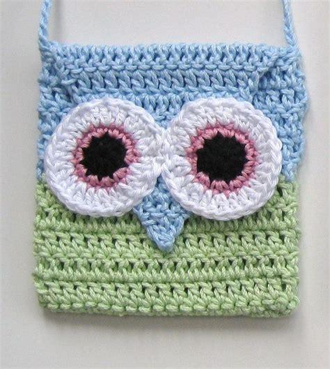 crochet pattern owl purse crochet owl bag instant download pdf pattern girl long